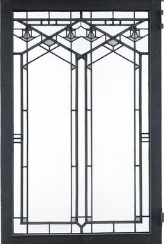 Frank Lloyd Wright - Stained Glass Window - 1900 - Met Museum