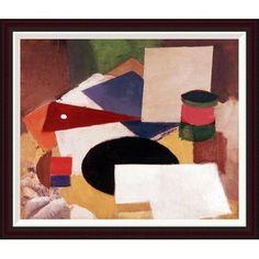 Global Gallery Still Life by Roger De La Fresnaye Framed Painting Print Size: