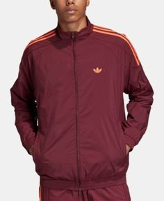 6d8c8ea4f Nike Windrunner Jacket - Men's - Maroon / Orange | Power Threads ...