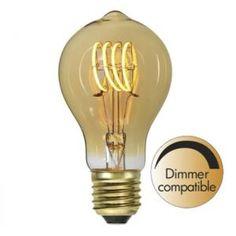 Decoration Normal amber 2,7W 2000K 80lm dimbar Led, Cobbler, Light Bulb, Lighting, Design, Amber, Decoration, Home Decor, Metal