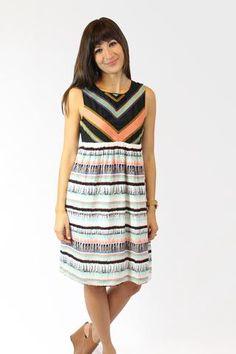 #dress #details #wovendress #stripes #colorful #boutique #shopsmall #love…