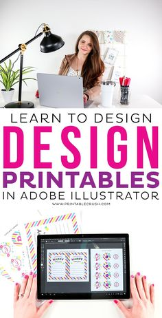 Feeling overwhelmed with learning a new design software? See how you can learn to design Printables in Adobe Illustrator! Feeling overwhelmed with learning a new design software? See how you can learn to design Printables in Adobe Illustrator! Printable Designs, Printables, Adobe Illustrator Tutorials, Graphic Design Illustration, Bird Illustration, Dashboard Design, Cricut Tutorials, Graphic Design Tutorials, Tool Design