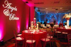celebrity wedding lighting - Google Search