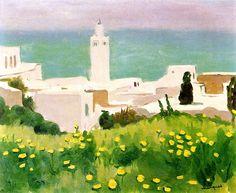 View of Sidi-Bou-Said / Albert Marquet - 1923