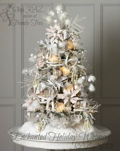 RAZ Enchanted Holiday Whimsy Christmas Tree http://www.trendytree.com