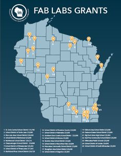 Preparing students for the future workforce, WEDC announced the first recipients of the Wisconsin's Fabrication Laboratories (Fab Labs) Grant Program.