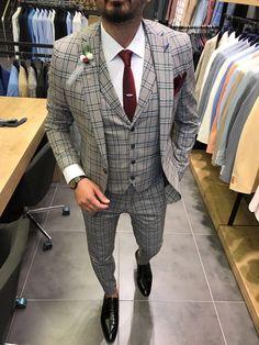 mens suits at m s Blue Blazer Outfit, Blazer Outfits Men, Stylish Mens Outfits, Indian Men Fashion, Mens Fashion Suits, Mens Suits, Fashion Wear, Best Suits For Men, Cool Suits
