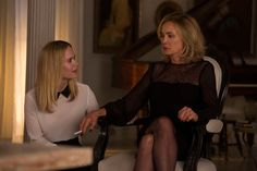 """Sarah Paulson as Cordelia and Jessica Lange as Fiona in the """"American Horror Story: Coven"""""""