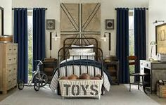 restoration hardware boys room - Google Search