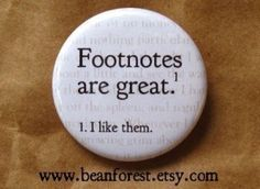 Footnote Button