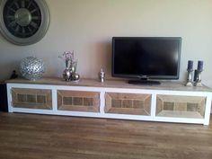 Steigerhout TV-meubel Ilaria - Steigerhout Furniture | Unieke steigerhouten meubelen & tuinmeubelen op maat gemaakt!
