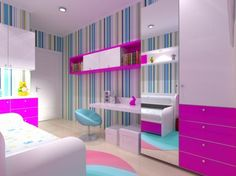 Desain Kamar Anak Perempuan Ukuran 3x3  desain kamar tidur ukuran 3x3 meter untuk anak rumah idaman]