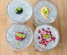 budinca din seminte de chia cu fructe Desserts, Food, Meal, Deserts, Essen, Hoods, Dessert, Postres, Meals