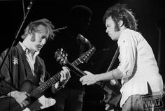 Neil Young and Stephen Stills Fine Art Photo Print @ Colt Park (Hartford, CT) Jul 11, 1976. Taken By Joe Sia during the Stills-Young Band Tour of 1976. http://www.wolfgangsvault.com/neil-young/photography/fine-art-print/COK760711-02-24A.html