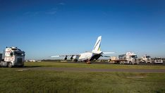 One of the world's largest aircraft has landed at Williamtown today carrying the first delivery of state of the art training equipment for the Aviation News, Aviation Industry, Training Equipment, State Art, Aircraft, Delivery, World, Building, Travel