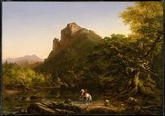 The Mountain Ford, 1846 Thomas Cole