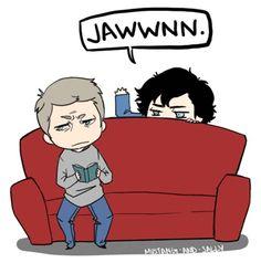 Jawwnn! #Sherlock Found via http://thatllamaguy.tumblr.com
