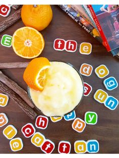 Mandarin Slushies for Back To School Breakfast! #SnackWithImpact #spon #BTS #BackToSchool