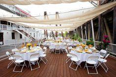 Have your wedding outdoor on the Delta King! #DeltaKingSac #DeltaKingWeddingIdeas