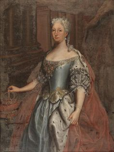 Queen Maria Ana de Austria (1683-1754) - Mafra National Palace