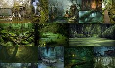 Swamp environment - Polycount Forum