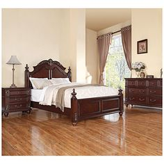Harrison Bedroom Collection - from Big Lots believe it or don't.  Saw the bed set up in the store today.  It is really gorgeous.