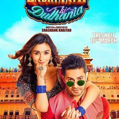 Poster number 2. Missed the dulhania catch the trailer this Thursday at noon. #badrinathkidulhania ❤️