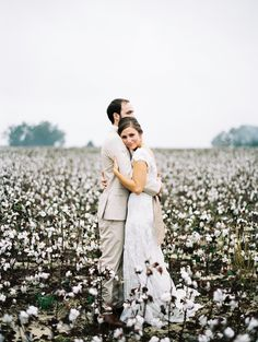 North Carolina Cotton Farm Wedding from Perry Vaile Photography Field Wedding, Wedding Poses, Wedding Photoshoot, Farm Wedding, Wedding Couples, Dream Wedding, Wedding Stuff, Photoshoot Ideas, Romantic Photography