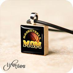 Basketball Mom - LifeTiles Necklace $10.99