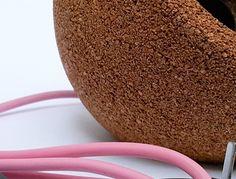 Globa][ natural cork lamp