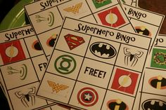 At Explorer Zone, we love bingo. and so do the children! However, we are always looking for unique new ways to challenge your children and bring in new excitement! Superheros + bingo = an amazing time! Batman Party, Superhero Birthday Party, Boy Birthday, Birthday Parties, Batman Birthday, Birthday Ideas, Kid Parties, Fête Spider Man, Theme Bts