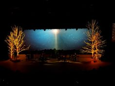 Christmas Stage Design