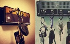 Key hanger that looks like an amp is for the music lover in you
