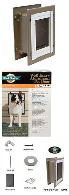 Doors And Flaps 116379 Petsafe Premium Plastic Pet Door White