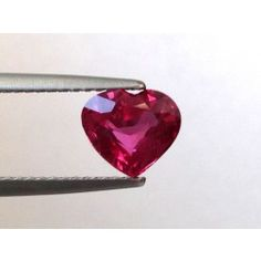 Natural Unheated Ruby red color heart shape carats with GIA Report Color Heart, Natural Ruby, Ruby Red, Vivid Colors, Red Color, Heart Shapes, Heart Ring, Gemstones, Engagement