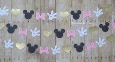 10 ft ratón minnie inspirado oro del rosa del por Sunshineanddaisy