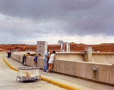 "Joel Sternfeld ""First Pictures"" at Luhring Augustine in NYC this month.  Bask in the Kodachrome goodness."