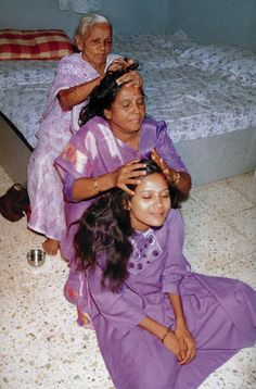 traditional indian head massage in