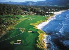 Pebble Beach Golf Links, 17 Mile Drive at Pebble Beach, CA.my parents loved this golf course Pebble Beach California, California Dreamin', Monterey California, Central California, Public Golf Courses, Best Golf Courses, Places To Travel, Places To See, Golf Course Reviews