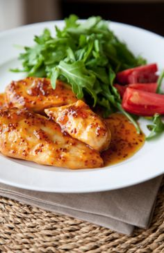 Martha Stewart's Apricot-Dijon Chicken - Boxwood Clippings