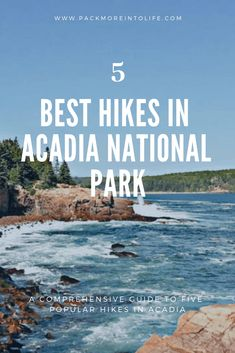 Looking to enjoy some hiking in Acadia National Park? Check out the best hikes in Acadia National Park with your family. From easy trails to a couple that are intense and best for families with older kids. Hiking With Kids, Travel With Kids, Family Travel, Family Vacations, Acadia National Park, National Parks, East Coast Road Trip, New England Travel, Tide Pools