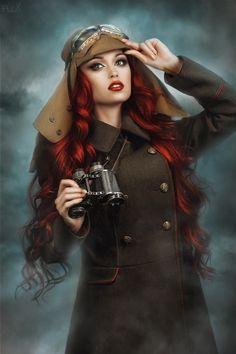 "steampunkopath: ""Steampunk Girls http://steampunkopath.tumblr.com/ """