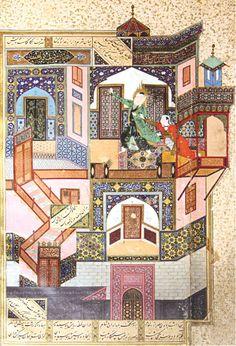 Kamal ud-din Behzad: The Seduction of Yusuf