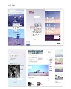 Talleres, Seminarios y Expo - Fusao by Nadia Cymeryng, via Behance Graphic Design Magazine, Magazine Design, Editorial Layout, Editorial Design, Graphic Design Posters, Typography Design, Leaflet Design, Architecture Quotes, Travel Humor