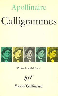 APOLLINAIRE, GUILLAUME. Calligrammes. Poèmes de la paix et de la guerre (1913-1916).