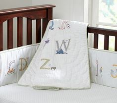 Just found my gender neutral nursery bedding!!! Not sure I can do the alphabet on the wall anymore, I think that would be a little much! Ha!