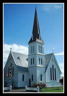St. Andrews Anglican Church, Cambridge, New Zealand (built 1881), by Susan Sharpes
