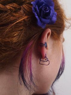 This handcrafted Niobium heart will fit your piercing perfectly! It measures 15mm in total width, but the inside diameter loops of the heart are
