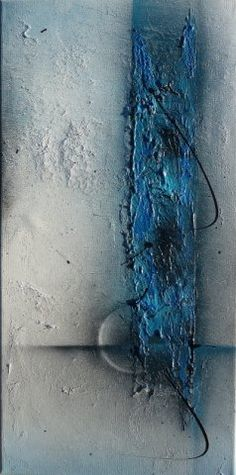 blue track by real-art.ch, #Malkurs, #art #painting #color #real #best #acryl #abstract # farben #malen #kunst #Marmormehl