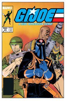 gi joe comic pics | 1984 85 g i joe covers by michael golden